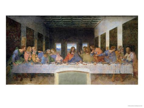 The Last Supper, 1495-97 Giclee Print