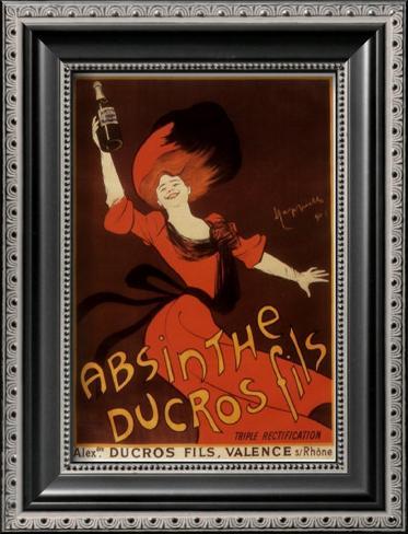Absinthe Ducros Fils Framed Art Print