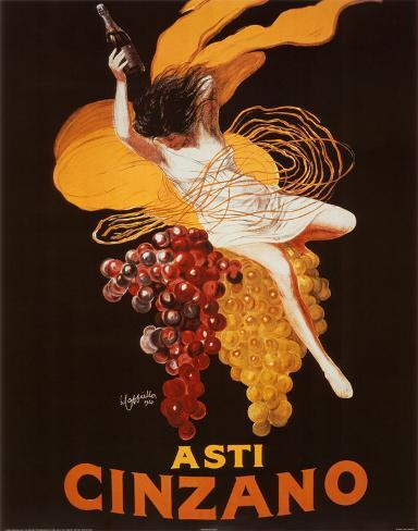 Leonetto Cappiello (Asti Cinzano) Art Poster Print Poster