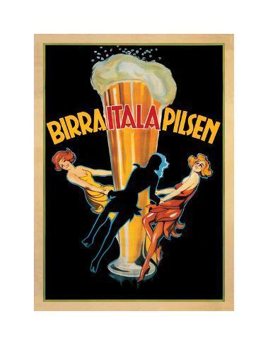 Birra Itala Pilsen 1920 Ca. Giclee Print