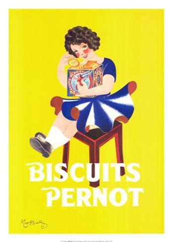 Biscuits Pernot Art Print