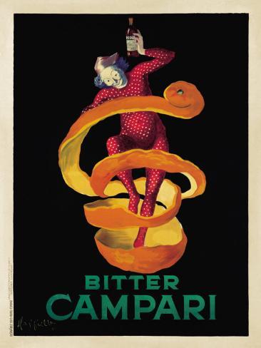 Bitter Campari, c.1921 Art Print