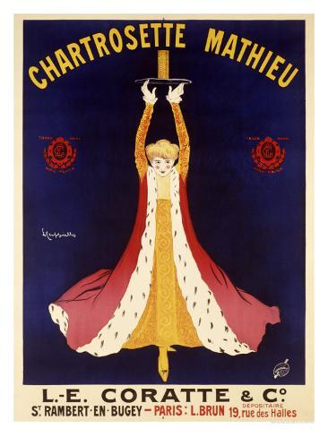 Chartrosette Mathieu Giclee Print