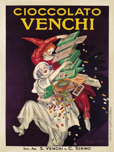 Cioccolato Venchi Art Print