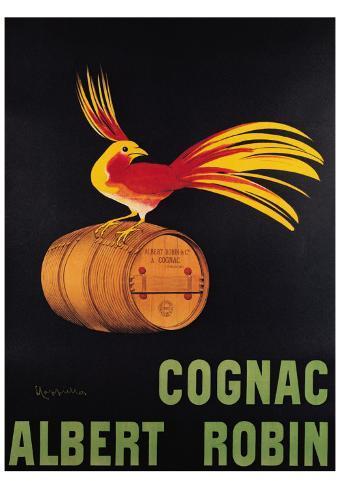 Cognac Albert Robin Art Print
