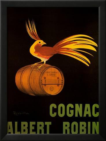 Cognac Albert Robin Framed Art Print