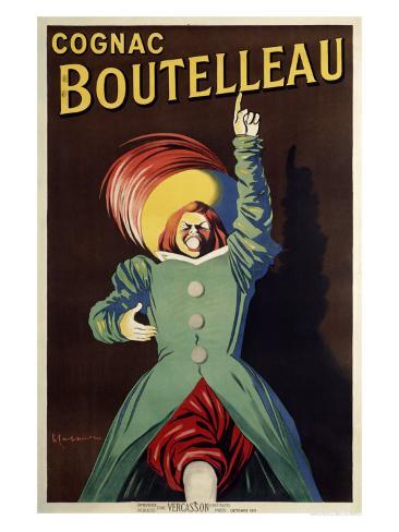 Cognac Boutelleau Giclee Print