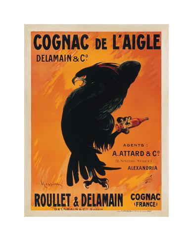 Cognac de L'Aigle Giclee Print