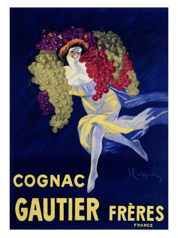 Cognac Gautier Giclée-vedos