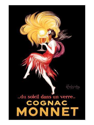 Cognac Monnet Premium Giclee Print