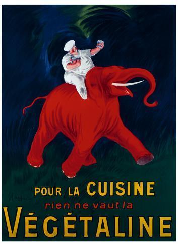 Cuisine Vegetaline Giclee Print