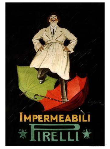 Impermeaabili Pirelli Giclee Print