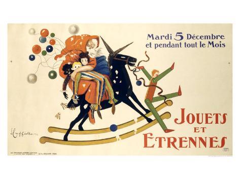 Jouets et Etrennes Giclee Print