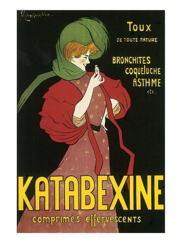 Katabexine Comprimes Effervescents Premium Giclee Print