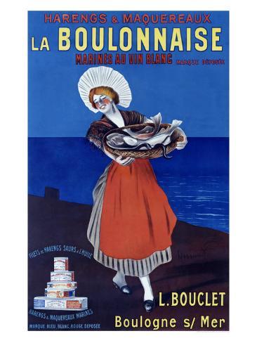 La Boulonnaise Giclée-vedos