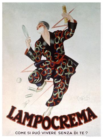 Lampocrema Giclee Print