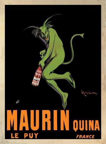 Maurin Quina, c.1906 Art Print