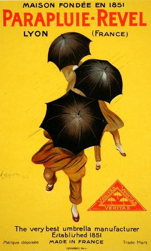 Parapluie Revel (c.1920) Collectable Print