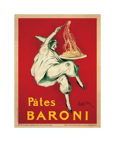 Pates Baroni, c.1921 Giclee Print