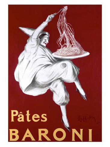 Pates Baroni, c.1921 Giclée-vedos