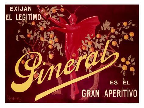Pineral, Gran Apertivo Giclée-vedos