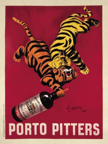 Porto Pitters Art Print