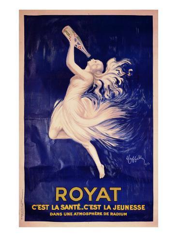 Royat Giclee Print