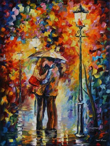 Kiss Under The Rain Lámina