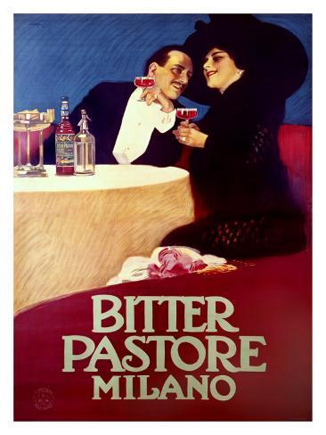 Bitter Pastore Giclee Print