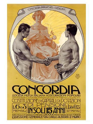 Concordia Giclee Print