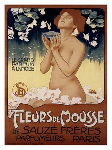 Fleur de Mousse Giclee Print