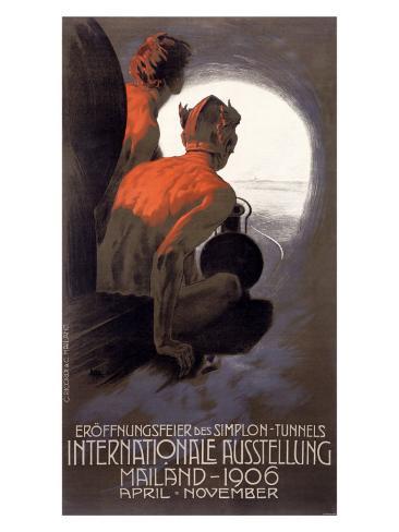 International Ausstellung Mailand Giclee Print