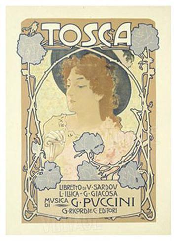 Tosca Giclee Print
