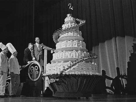 Louis Armstrong Birthday Celebration -1970 Photographic Print