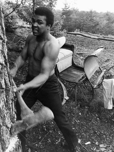 Muhammad Ali - 1974 Photographic Print