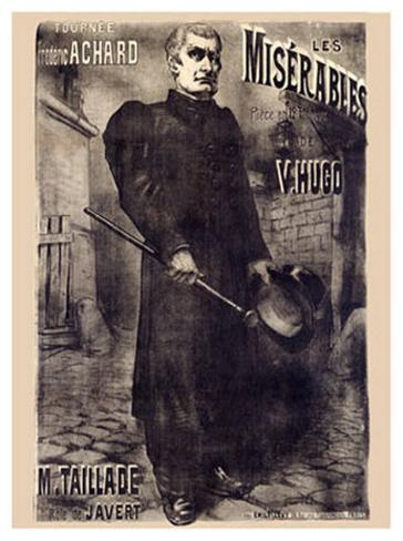 Les Miserables, 1899 Giclee Print