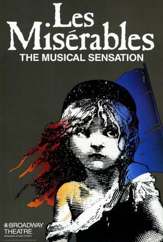 Les Miserables (Broadway) Poster