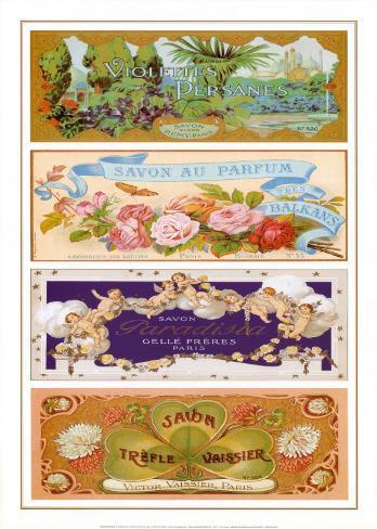 Les Quatre Ssavons II Art Print