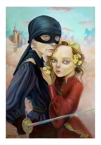 Princess Bride Art Print