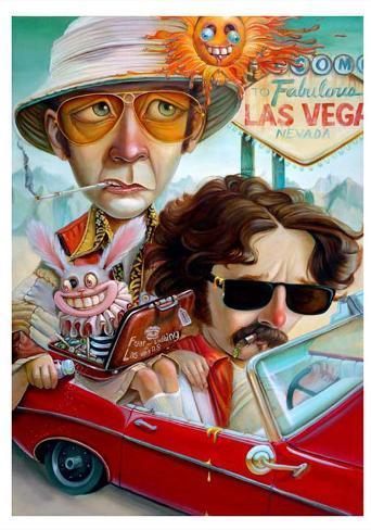 Vegas Bound Art Print