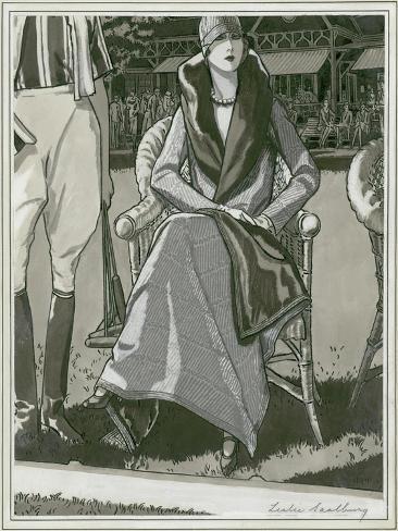 Vogue - March 1929 Stampa giclée premium