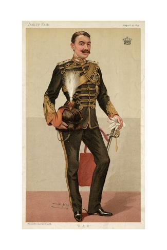 9th Earl of Denbigh, Vanity Fair Giclée-vedos