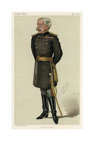 Gen. Sir George W. A. Higginson, Vanity Fair Stampa giclée