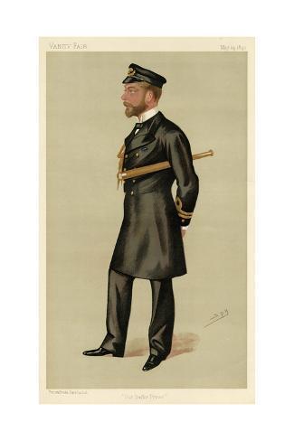 George V Stampa giclée