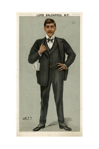 Lord Balcarres Mp, Vanity Fair Stampa giclée