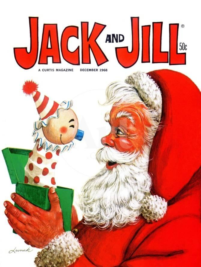 Jack -in-the Box - Jack and Jill, December 1968 Giclee Print by ...