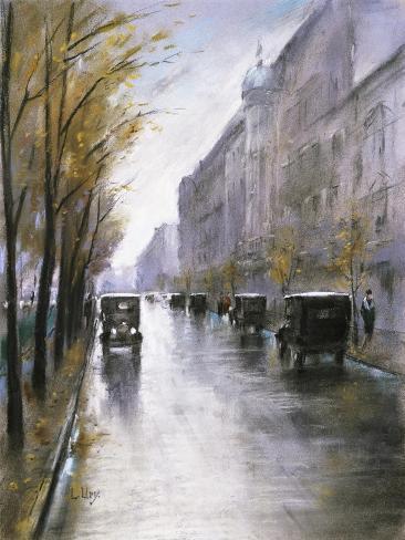 The Tiergartenstrasse, Berlin Giclee Print