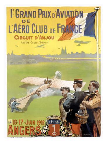 Prix Aviation Angers Giclee Print