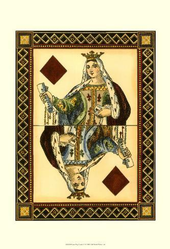 Let's Play Cards IV Art Print