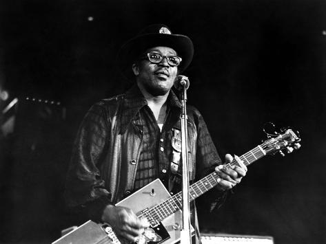 Let The Good Times Roll, Bo Diddley, 1973 Photo